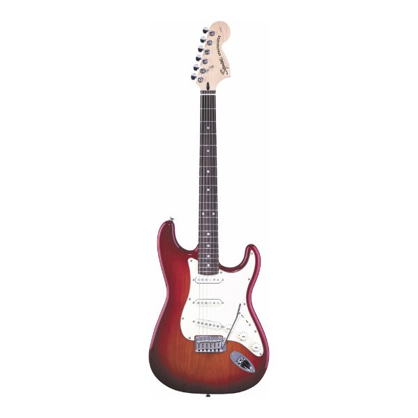 Guitarra Strato Squier By Fender Standard Limited Sunburst