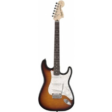 Guitarra Squier Strato Deluxe Flame Top