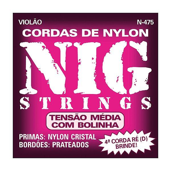 Encordoamento Nig Violão Media C Bol N475