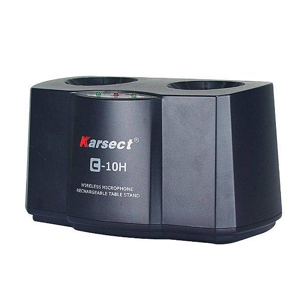 Carregador Karsect Bateria CH 10