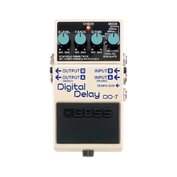 Pedal Guitarra Boss Digital Delay DD 7