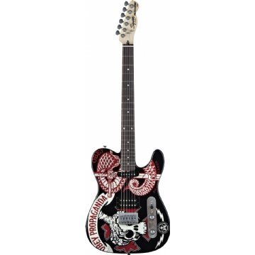 Guitarra Squier Tele Obey Graphic Propagand