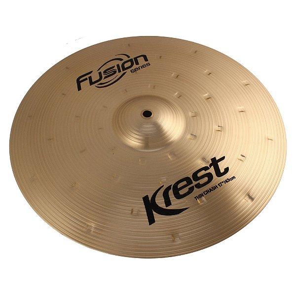 "Prato Ataque 17"" Krest Fusion Series Thin Crash"