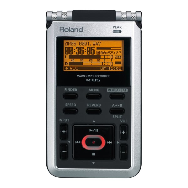 Gravador Roland R 05 Wave/Mp3