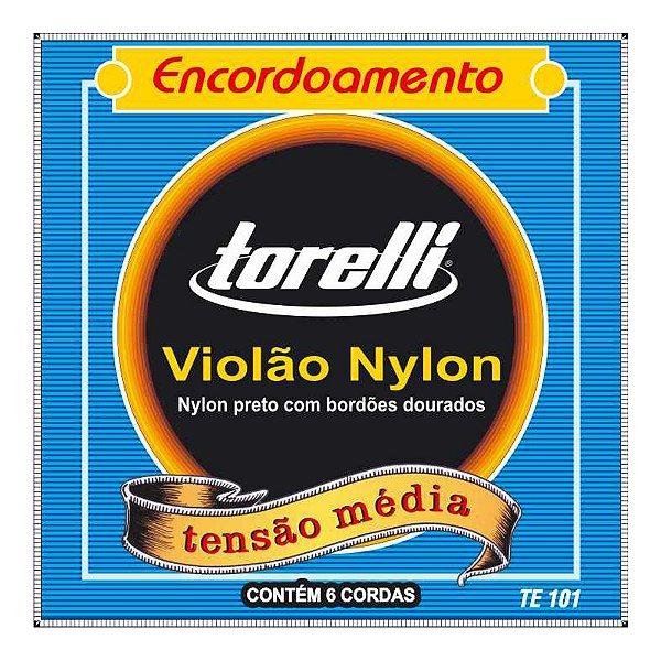 Encordoamento Torelli Violão Ny Dourado Te 101