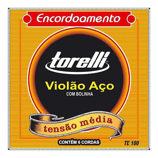 Encordoamento Torelli Violão Aco Te 100