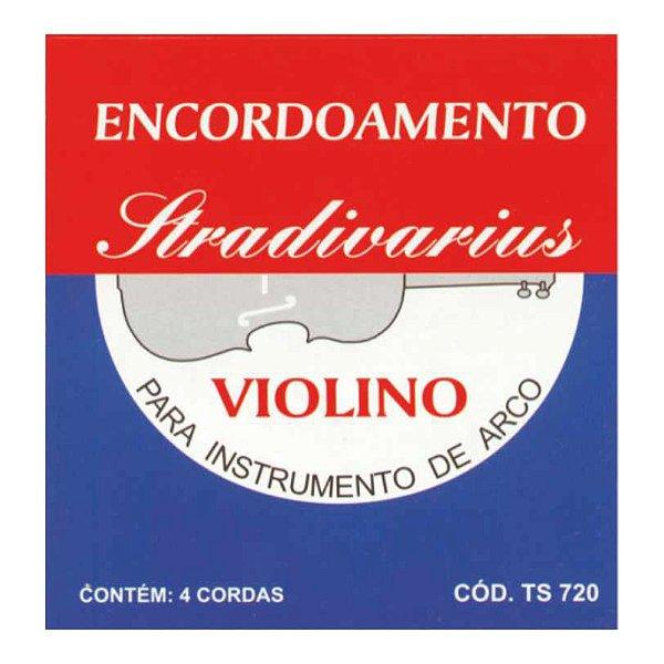 Encordoamento Torelli Violino Stradivarius Ts 720