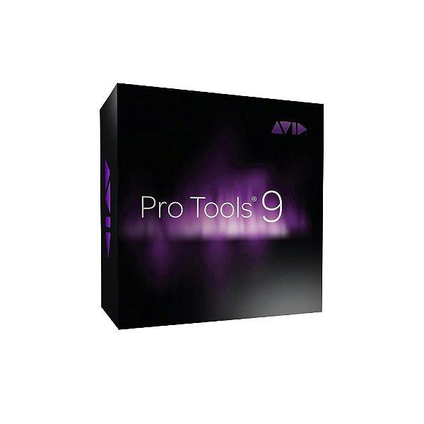 Software Multi-Pista AVID ProTools 9