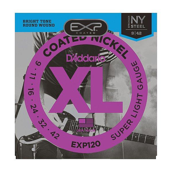 Encordoamento Guitarra D'Addario 0,09 EXP 120