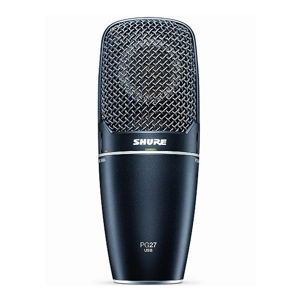 Microfone com fio USB Shure PG 27