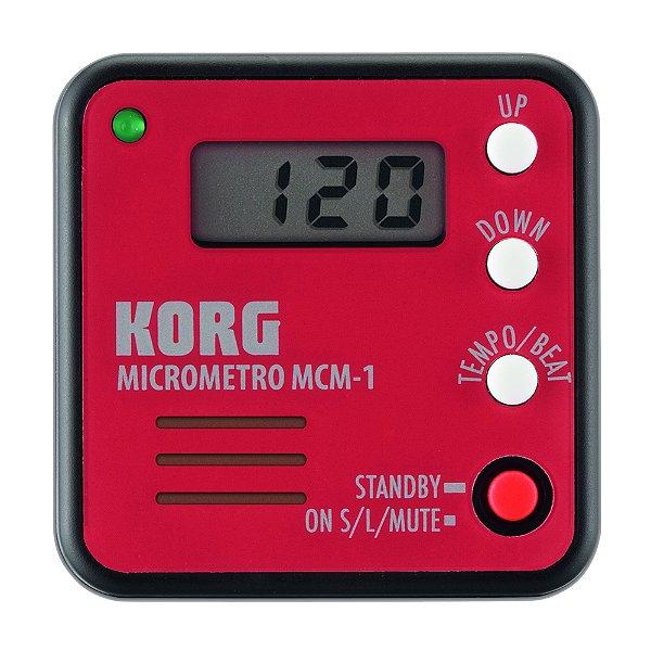 Afinador Digital Korg Micrometro MCM 1RD