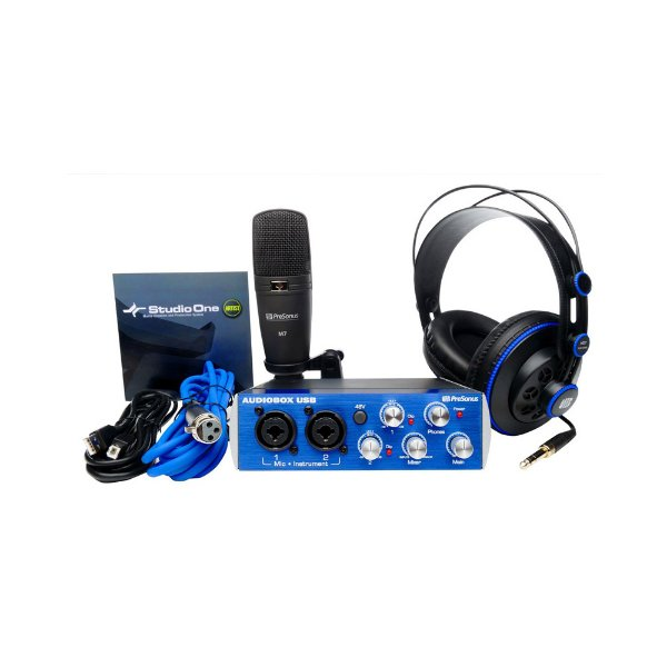 Kit Interface USB Presonus AudioBox Studio