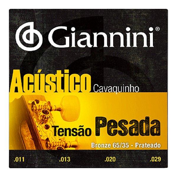 Encordoamento Giannini Cavaco Gescpa C/ Bolinha