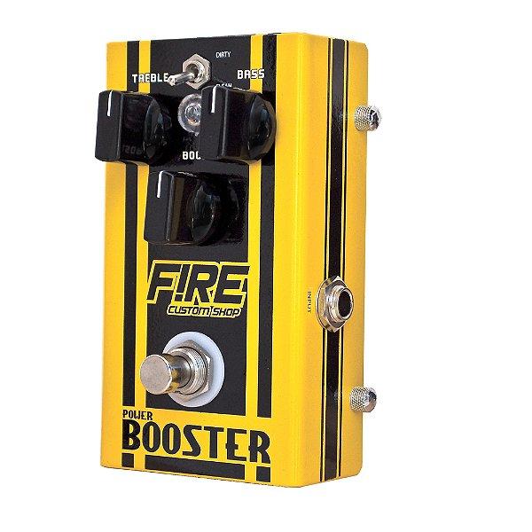 Pedal Guitarra/Baixo Fire Power Booster