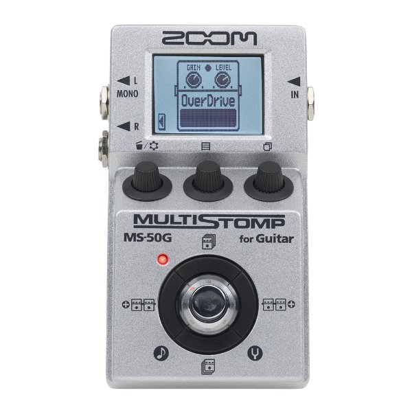 Pedal Guitarra Zoom MS 50G