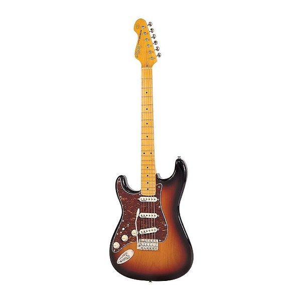 Guitarra Strato Vintage V6 Reissued Series SSB LH