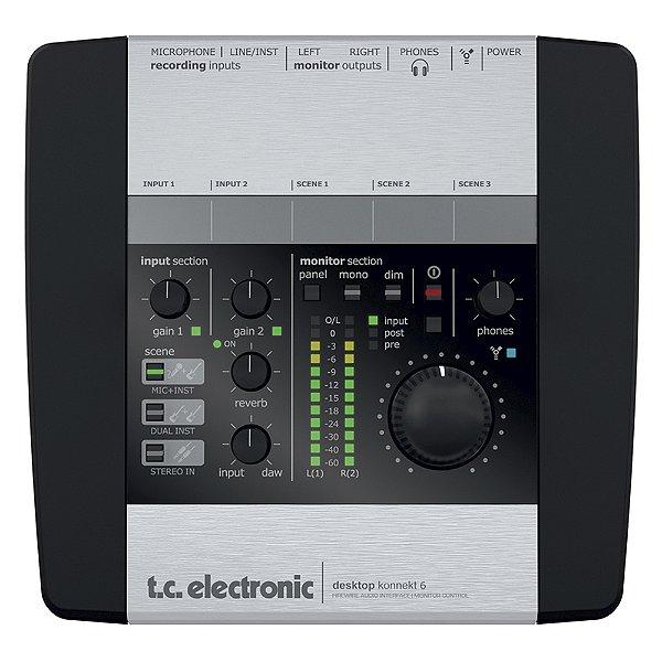 Interface Firewire TC Electronic Desktop Konnekt 6