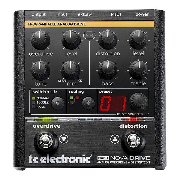 Pedal Guitarra TC Electronic Nova Drive