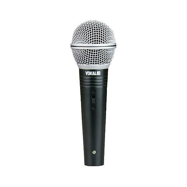 Microfone Mão Vokal VM 500