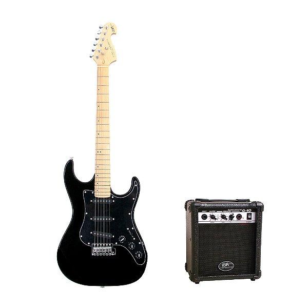 Kit Guitarra Washburn Kirk Hammett + Amplificador + Acessórios