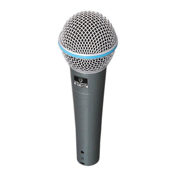 Microfone Mão Waldman Broadcast BT 580