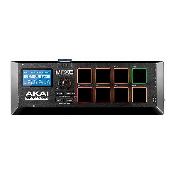 Controlador USB Akai MPX 8