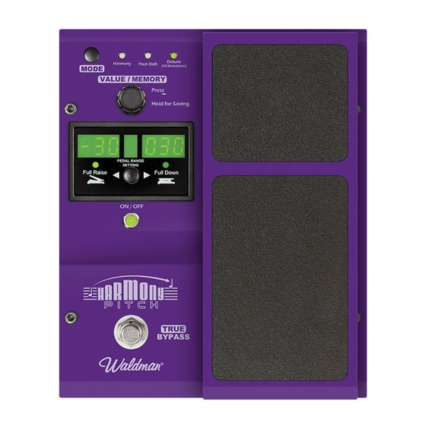 Pedal Guitarra Waldman Harmony Pitch HP 100