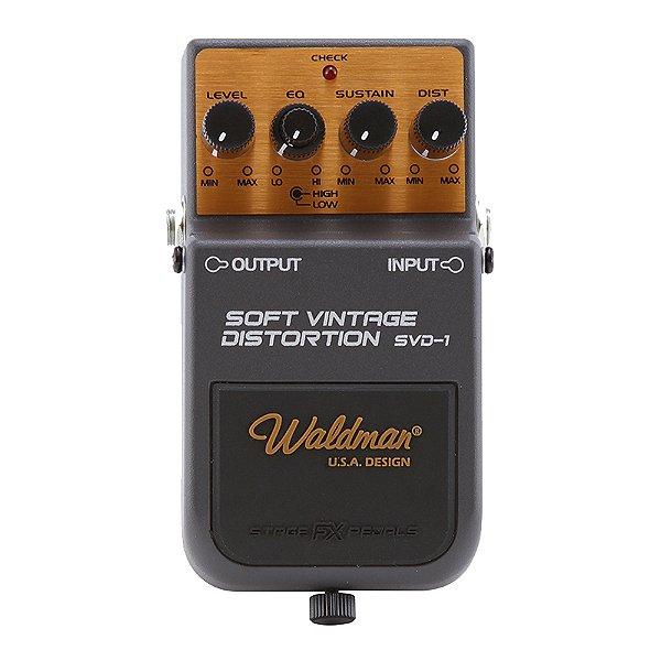 Pedal Guitarra Waldman Soft Vintage Distortion SVD 1