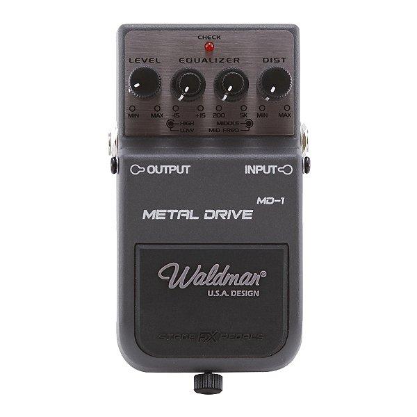 Pedal Guitarra Waldman Metal Distortion MD 1