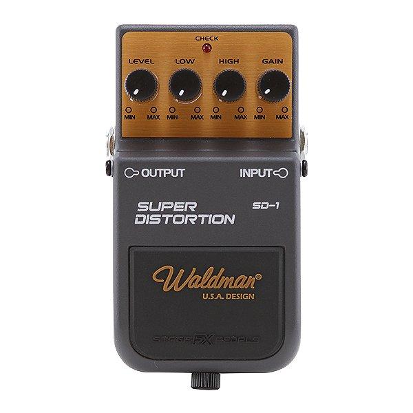 Pedal Guitarra Waldman Super Distortion SD 1