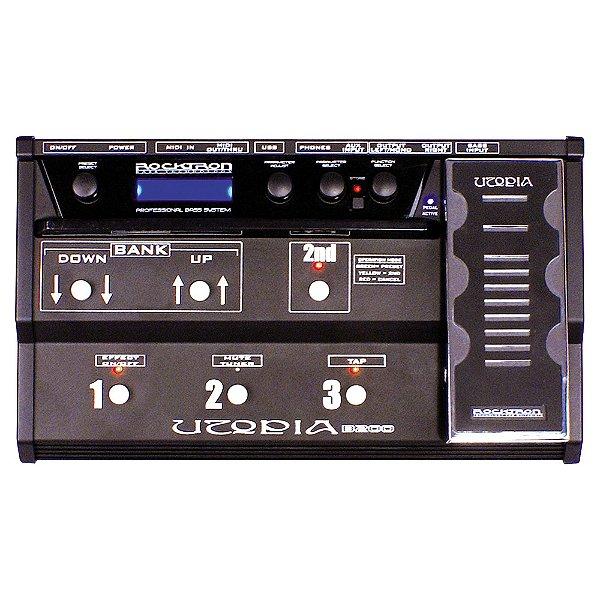 Pedaleira Contrabaixo Rocktron Utopia B 200 USB