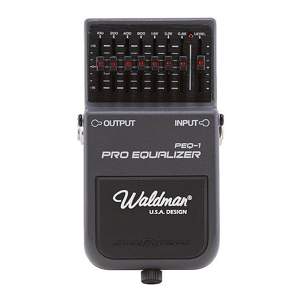 Pedal Guitarra Waldman Pedal Pro Equalizer PEQ 1