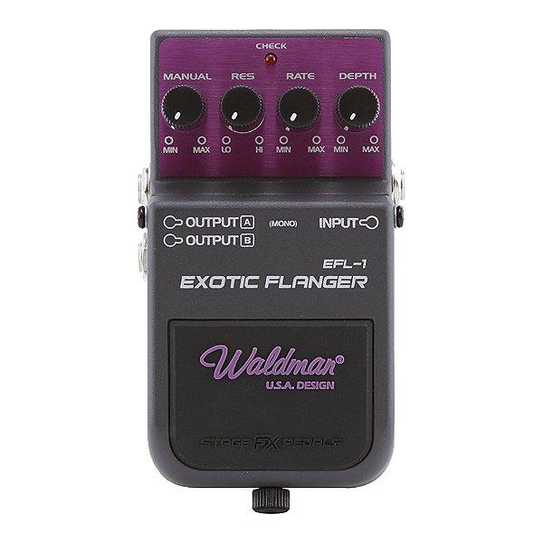 Pedal Guitarra Waldman Exotic Flanger EFL 1