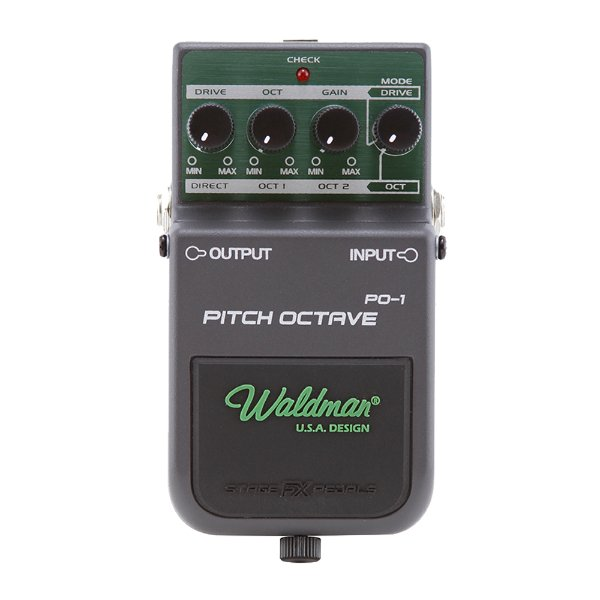 Pedal Guitarra Waldman Pitch Octaver PO 1