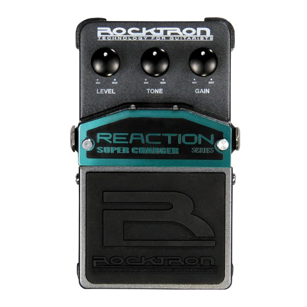 Pedal Guitarra Rocktron Reaction Super Charger