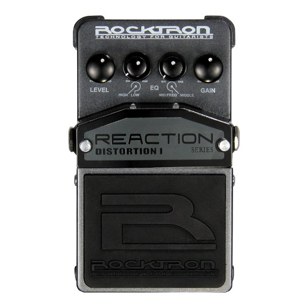 Pedal Guitarra Rocktron Reaction Distortion