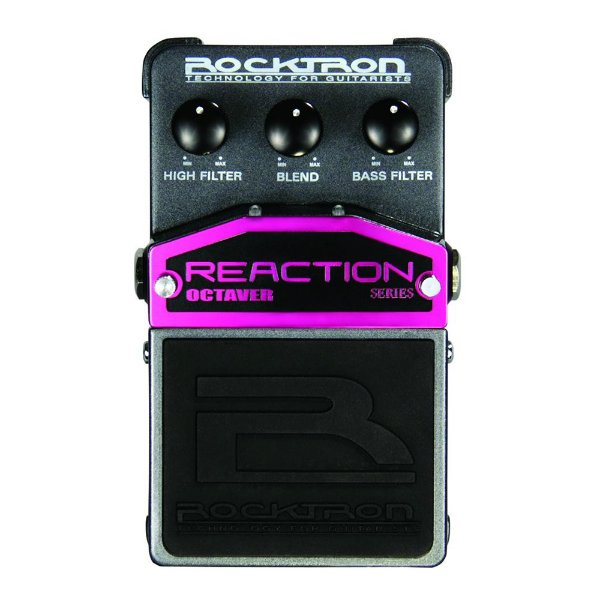 Pedal Guitarra Rocktron Reaction Octaver