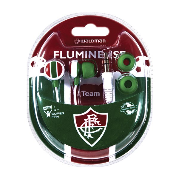 Fone In Ear Waldman Super Fan Fluminense