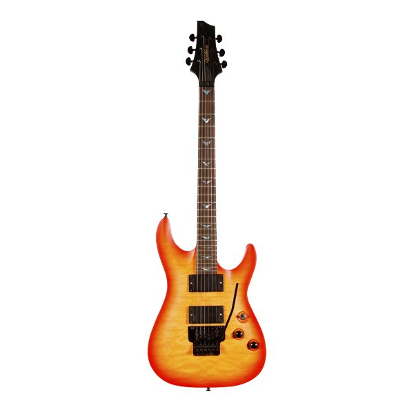 Guitarra Original Waldman Scandal Extra GSC 800 Q