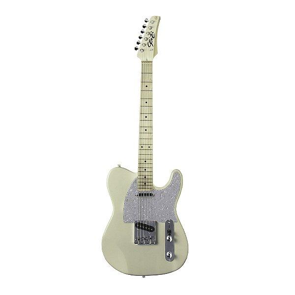 Guitarra Tele Seizi Television - Ivory