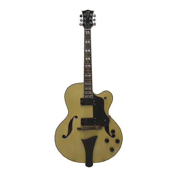 Guitarra Semi Acústica Groovin GHJ 380 WD