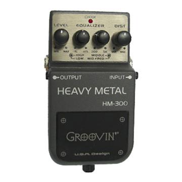 Pedal Guitarra Groovin Distortion HM 300