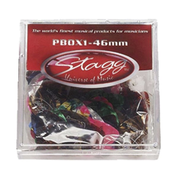 Kit Palhetas Stagg P BOX 1 46