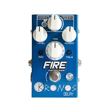 Pedal Guitarra/Contrabaixo Fire Kronos Delay