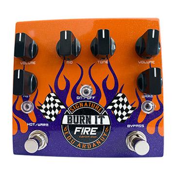 Pedal Guitarra Fire Dual Drive Signature Edu Ardanuy