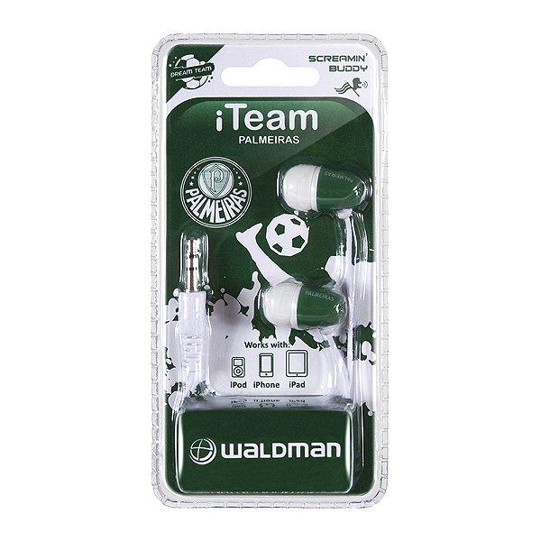 Fone In-Ear Waldman Screamyn Buddy Palmeiras