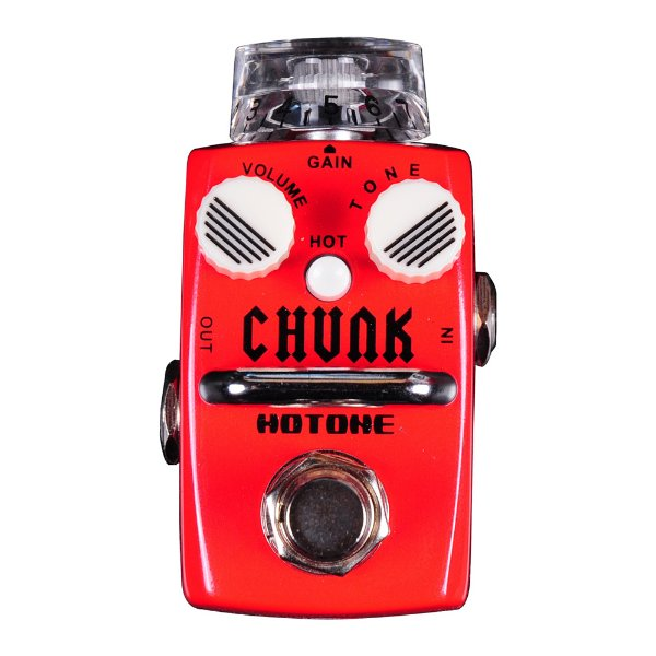 Pedal Guitarra Hotone Distortion Chunk SDS 1
