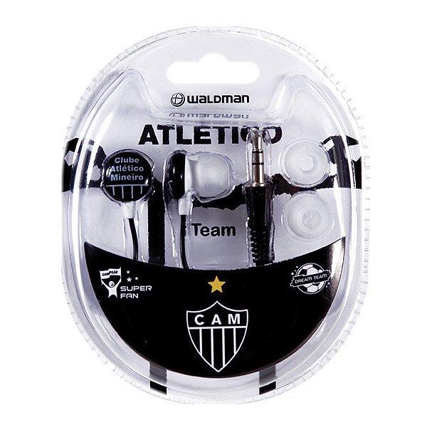 Fone In-Ear Waldman Super Fan Atlético Mineiro