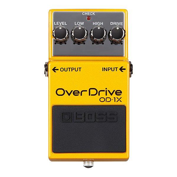 Pedal Guitarra Boss Overdrive OD 1X