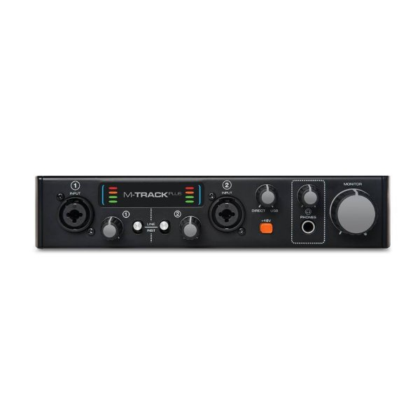 Interface USB M-Audio M Track Plus II